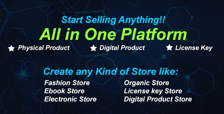 KingCommerce - All in One Single/Multi Vendor eCommerce Business Management System - 1
